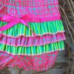 Baby ruffled bloomers, diaper cover..