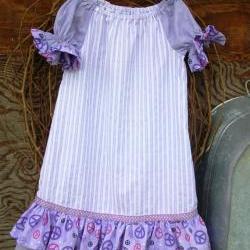 Girls  Dress size 6,ruffles, short sleeves,